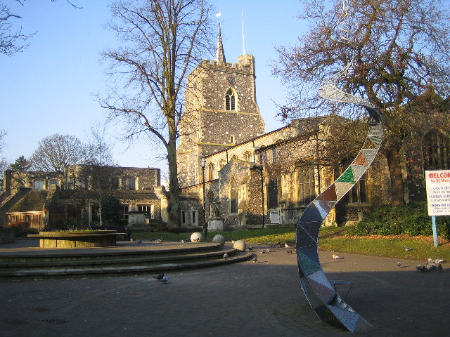 an image of St Mary's Church in Watford
