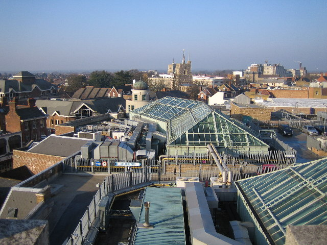 an image of Watford Town Centre Roofscape